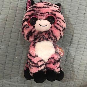 """TY Beanie Boo Zoey the Zebra 10"""" Plush"""